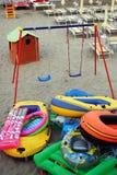Spiaggia dei giocattoli Immagine Stock Libera da Diritti