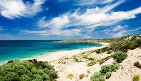 Spiaggia dei maggiordomi Fotografia Stock Libera da Diritti