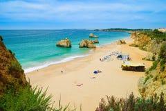 Spiaggia del Algarve Fotografia Stock