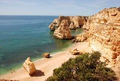Spiaggia del Algarve Fotografie Stock Libere da Diritti