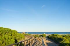 Spiaggia del BLANCA della Costa Fotografie Stock Libere da Diritti