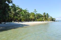 Spiaggia del BLANCA di Playa vicino a Livingston Fotografie Stock
