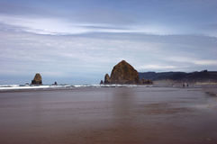 Spiaggia del cannone Fotografia Stock Libera da Diritti