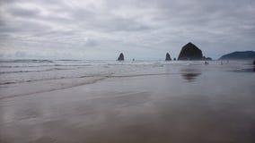 Spiaggia del cannone, Oregon Immagine Stock Libera da Diritti