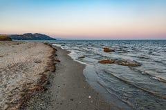 Spiaggia del capo di Possidi fotografia stock