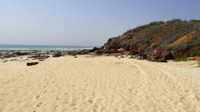Spiaggia del cavo, Broome, Australia occidentale Immagine Stock Libera da Diritti