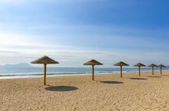 Spiaggia del centro balneare immagini stock libere da diritti