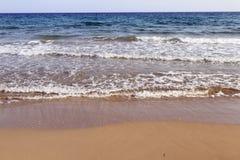 Spiaggia del Cipro del Nord Immagine Stock Libera da Diritti