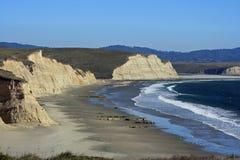 Spiaggia del cittadino di Reyes del punto Immagine Stock