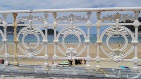 Spiaggia del Concha della La Fotografie Stock Libere da Diritti