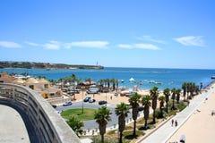 Spiaggia del da Rocha della Praia, Portimao, Portogallo Immagini Stock