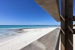 Spiaggia del DES Trenc all'isola di Maiorca Fotografia Stock Libera da Diritti