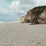 Spiaggia del deserto Immagine Stock Libera da Diritti