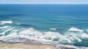 Spiaggia del DUA di Nusa con la sabbia bianca fotografia stock