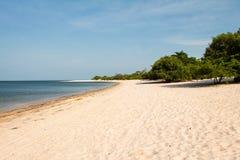 Spiaggia del fiume Immagini Stock