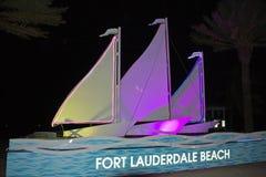 Spiaggia del Fort Lauderdale Immagine Stock