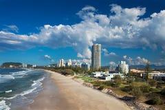 Spiaggia del Gold Coast fotografie stock
