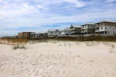 Spiaggia del golfo del Messico dell'Alabama Fotografie Stock