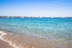 Spiaggia del Grande Pevero, Sardinia, Italy. Spiaggia del Grande Pevero on famous Costa Smeralda, Sardinia, Italy Stock Photo