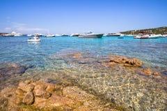 Spiaggia del Grande Pevero, Sardinia, Italy. Spiaggia del Grande Pevero on famous Costa Smeralda, Sardinia, Italy Stock Photography