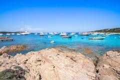Spiaggia del Grande Pevero, Sardinia, Italy Stock Images