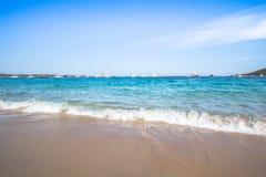 Spiaggia del Grande Pevero, Sardinia, Italy. Spiaggia del Grande Pevero on famous Costa Smeralda, Sardinia, Italy Stock Images