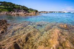 Spiaggia Del Grande Pevero, Sardinien, Italien Lizenzfreies Stockbild