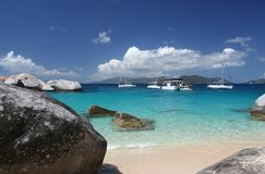 Spiaggia del granito Immagini Stock Libere da Diritti