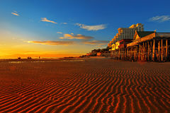 Spiaggia del Hua Hin. Immagine Stock