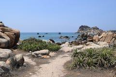 Spiaggia del KE GA nel Vietnam Fotografia Stock