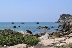 Spiaggia del KE GA nel Vietnam Fotografie Stock Libere da Diritti