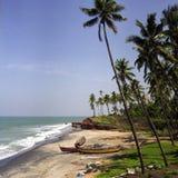 Spiaggia del Kerala Immagini Stock