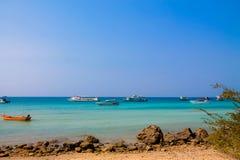 Spiaggia del KOH LARN, Pattaya, Tailandia Fotografia Stock