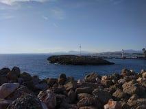 Spiaggia del lato di Adalia Manavgat Fotografia Stock Libera da Diritti