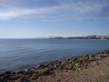 Spiaggia del lato di Adalia Manavgat Immagine Stock Libera da Diritti