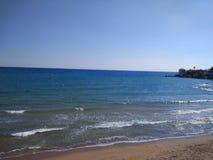 Spiaggia del lato di Adalia Manavgat Immagine Stock