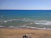 Spiaggia del lato di Adalia Manavgat Immagini Stock Libere da Diritti