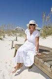 Spiaggia del litorale del golfo Fotografia Stock Libera da Diritti