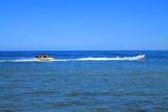 Spiaggia del Mar Baltico a Kulikovo un giorno caldo di luglio Immagini Stock
