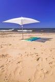 Spiaggia del Mar Baltico in Sobieszewo Fotografia Stock