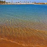 Spiaggia del Mar Rosso Fotografia Stock