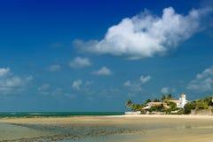 Spiaggia del Maracaju, natale Immagini Stock Libere da Diritti