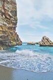 Spiaggia del mare Immagine Stock Libera da Diritti