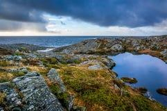Spiaggia del Mare del Nord immagini stock
