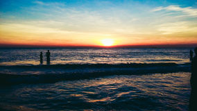 spiaggia del mare di bazar di Cox Fotografia Stock