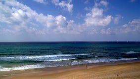 Spiaggia del mare di estate immagine stock