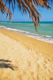 Spiaggia del mare di estate Fotografia Stock