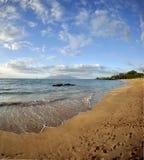 Spiaggia del Maui Hawai Immagini Stock
