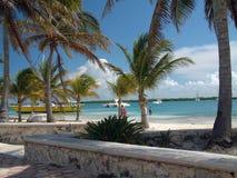 Spiaggia del Messico Fotografia Stock