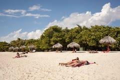 Spiaggia del ³ n di Ancà Fotografia Stock Libera da Diritti